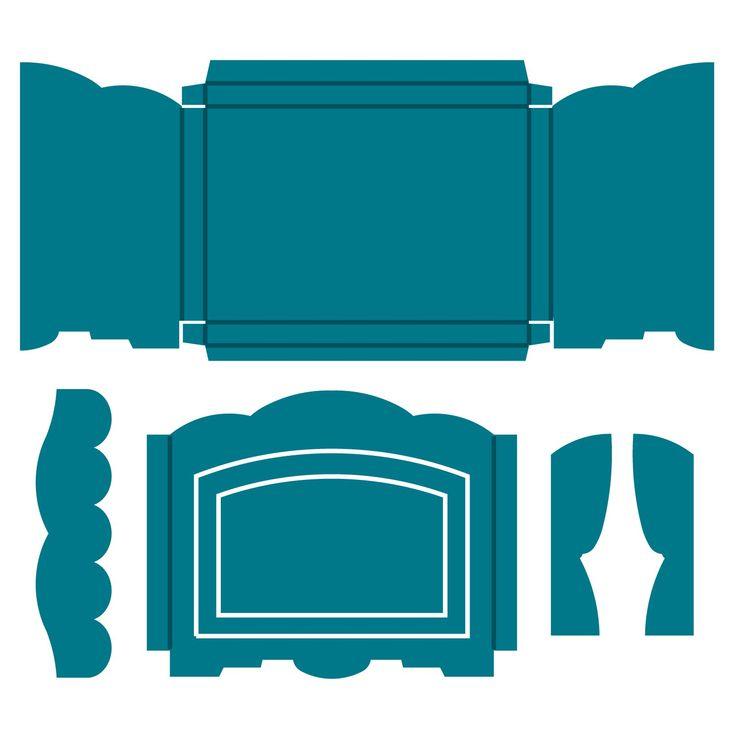 Shadow Box-Landscape Steel-Rule Die | AccuCut Craft ....Love this die!