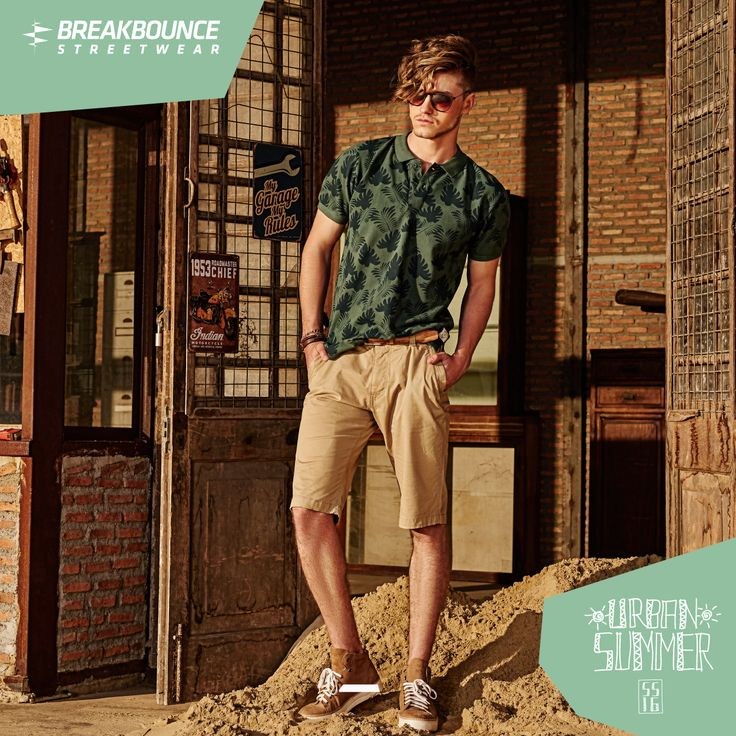 Come up in the streets lookin' hella fly! Urban Summer SS 16 by Breakbounce is here! #menswear #springsummer #summerstyle #mensfashion #menswear