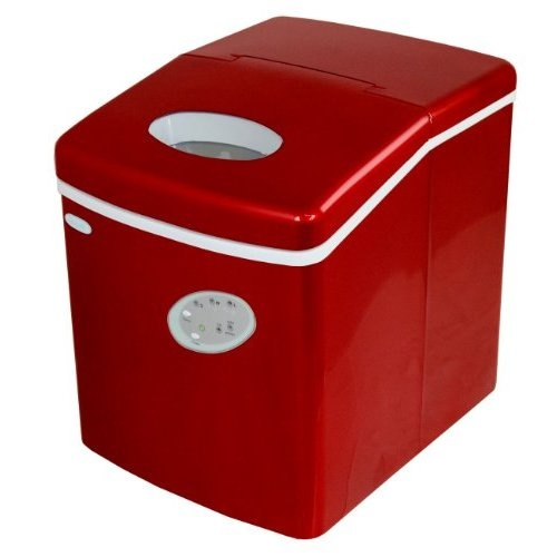 Newair Countertop Dishwasher : ... .com: NewAir AI-100R Countertop Portable Ice Maker, Red: Appliances