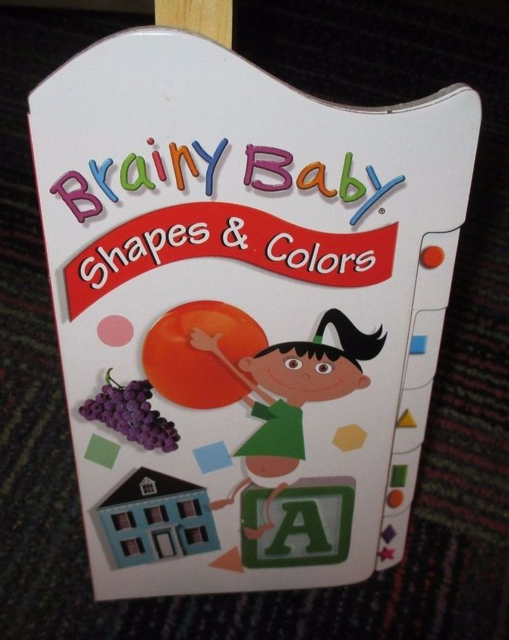 BRAINY BABY: SHAPES & COLORS BOARD BOOK, EDUCATE & ENTERTAIN, GUC