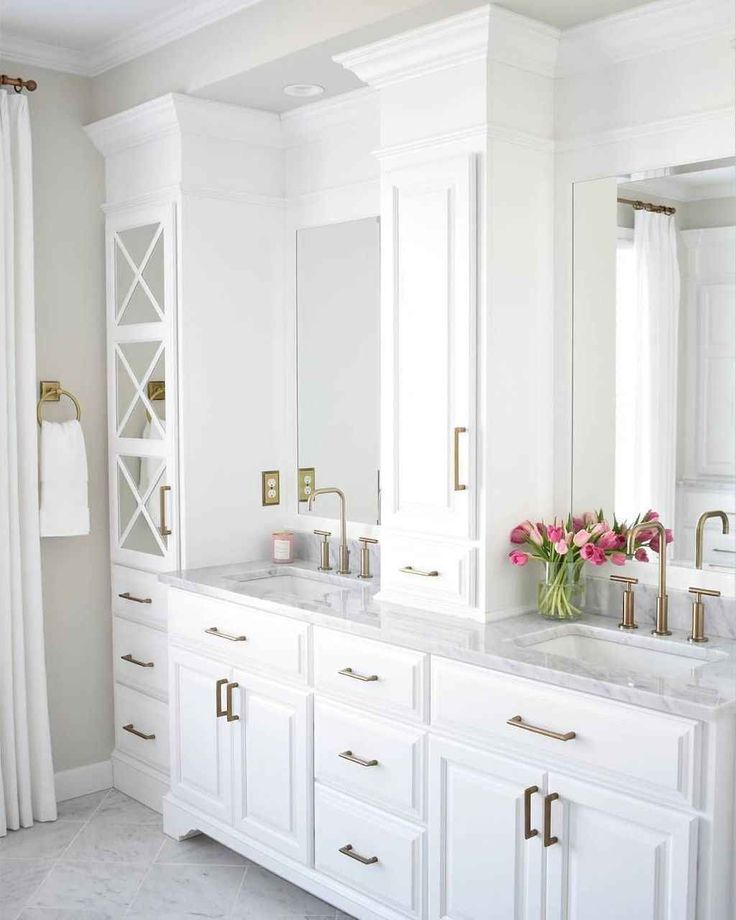 65 Beautiful Master Bathroom Remodel Ideas (With images ...