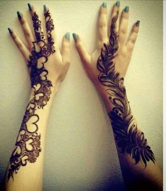 I love the left hand!!!!! So pretty!!