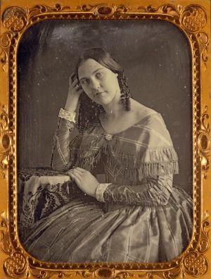 Julia Dean, Daguerreótipo por Thomas Easterly