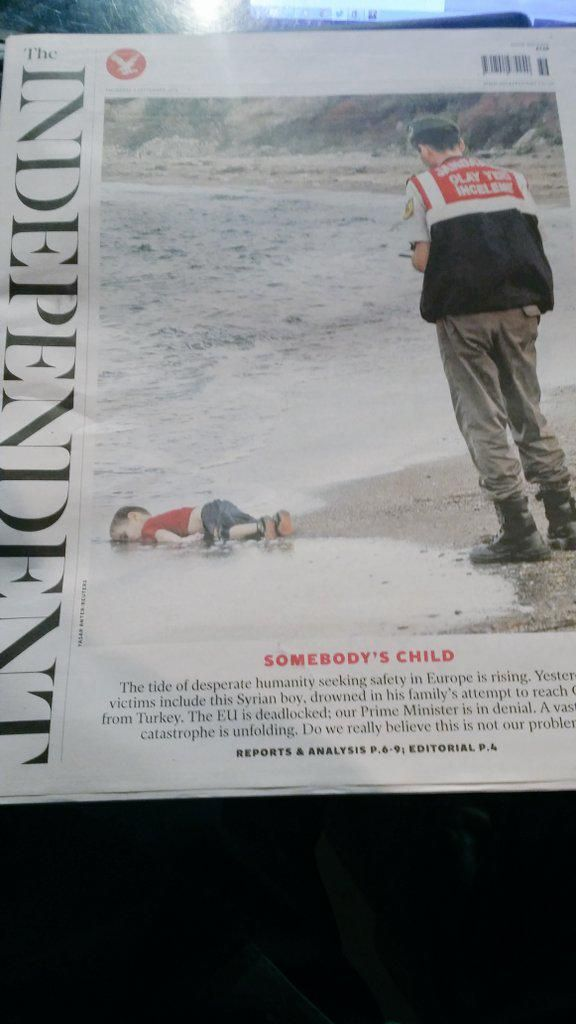 Is this the image that changes how you view the migrant crisis ? Let us know @SkyNews Sunrise @SunriseIsabel