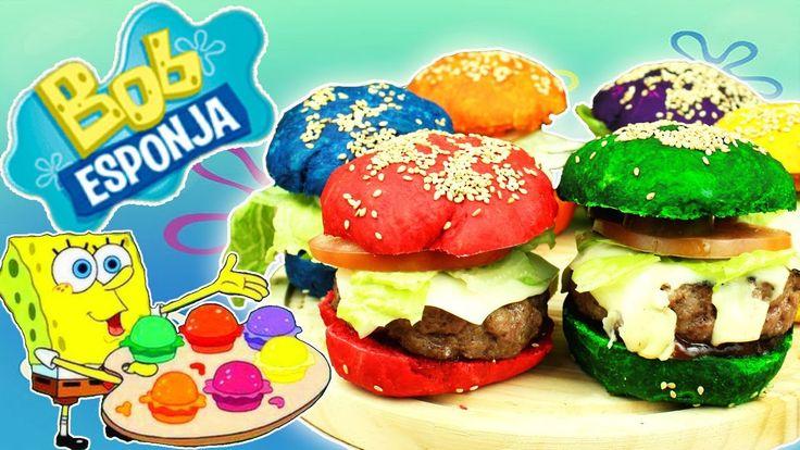 Las Deliciosas Colorburguers de Bob Esponja - YouTube