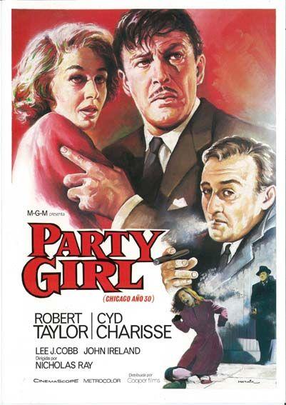 """Chicago, años 30 (1958) """"Party Girl"""" de Nicholas Ray - tt0052050"""