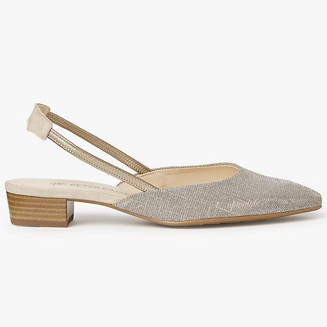 Buy Peter Kaiser Castra Slingback Court Shoes, Sand Online at johnlewis.com