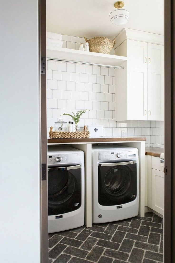 45+ Attractive Laundry Room Tile Design Ideas Laundry
