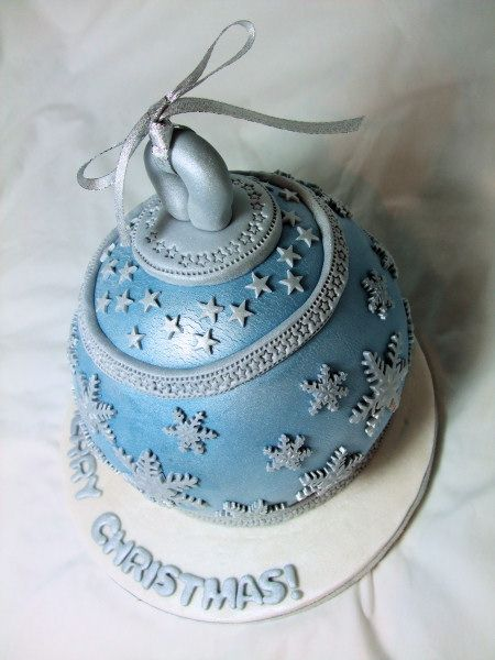 Christmas ornament cake Cake Inspiration Pinterest ...
