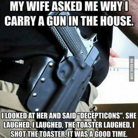 Guns in the house