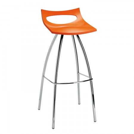 Diablito barkruk Scab Design hoog oranje | Musthaves verzendt gratis