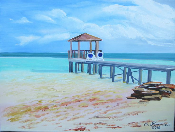"""I will paint your vacation. Personalized Gift. Original Oil Painting on Canvas. Landscape Painting. Large Painting. Wall Art. Home Decor. 18"""" x 24"""". 46 x 61 cm. Unframed. These are only examples of paintings, and they are not available for sale. BY ORDER ONLY.  Capture your vacation memories forever by having an original oil painting created.  Give me your best vacation photo(s), and I will paint your vacation for you! It will not be an identical copy, but will look quite similar. Each…"""