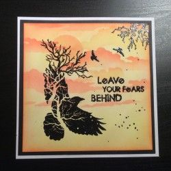 Visible Image - Crow Tree - Leave Your Fears Behind - Hazel Eaton