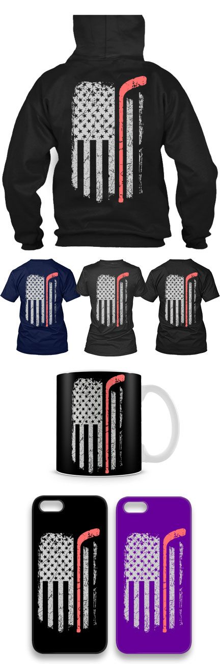 Hockey USA Flag Shirts! Click The Image To Buy It Now or Tag Someone You Want To Buy This For. #hockey