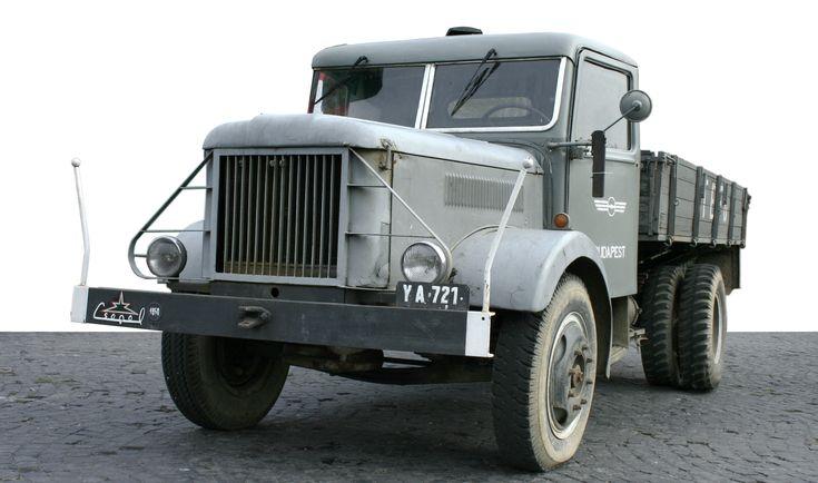 1955 Csepel D350 Hungarian truck #1955 #Csepel #Hu