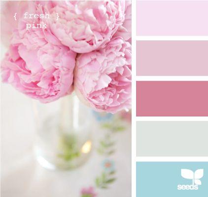 fresh pinkDesign Seeds, Room Colors, Design Interiors, Girls Room, Design Bedrooms, Colors Palettes, Colors Schemes, Colours Palettes, Interiors Ideas
