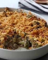 Broccoli and Wild Mushroom Casserole Recipe on Food & Wine