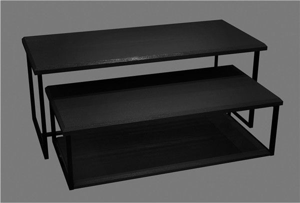 Black Clothing Store Display Tables Ideas - Super U Shop Fitting Co., Ltd