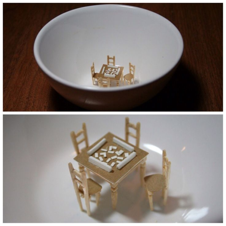 Porcelain bowl by diem chau #porcelain #paperorigami #toothpicks #diemchau