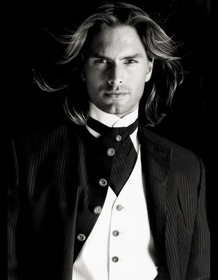 The top model Marcus Schenkenberg for Carlo Pignatelli Cerimonia '96 adv! -