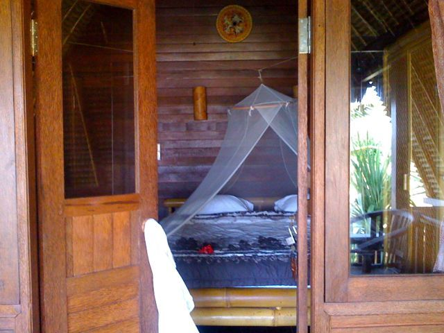 Hut love. My hideaway in Dream Beach Nusa Lembongan.