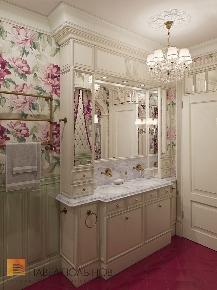 Фото: Ванная комната - Интерьер шестикомнатной квартиры в классическом стиле, Малый пр. П.С., 160 кв.м.