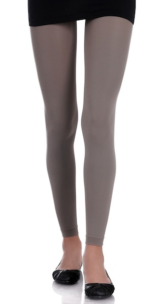 Designer Footless Tights Medium Grey. Upgrade your wardrobe with Zohara designer footless tights, these trendy Medium Grey Footless Tights by Zohara are a great way to keep your look trendy, fun and unique on the same time, $24.95 http://www.trendylegs.com/shop/designer-footless-tights-medium-grey/