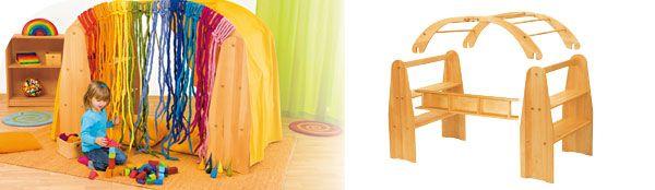 Waldorf Spielständer & Spielhaus