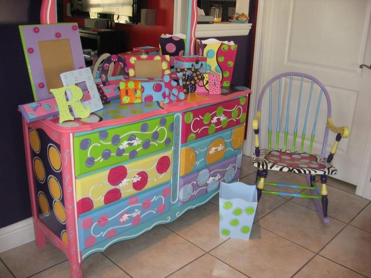 134 best Kids bedroom DIY painted furniture images on Pinterest