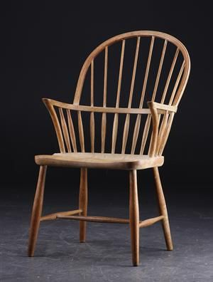 Frits Henningsen (1898 -1965): Windsor chair.