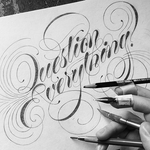 Hand Lettering EXTRAVAGANZA on Behance