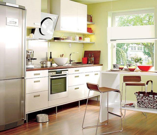 263 best images about decoraci n de interiores on pinterest for Cocinas pequenas y sencillas