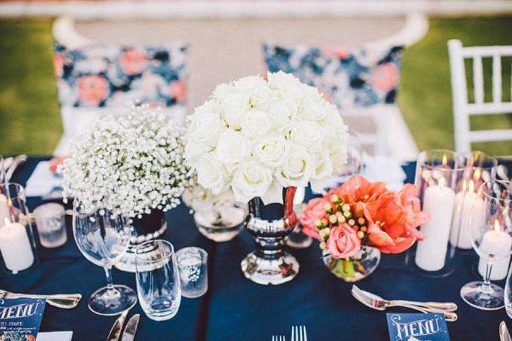 Casamento Azul e Coral | Blog Loja dos Noivos