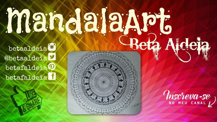 Mandala Art 1 - Beta Aldeia