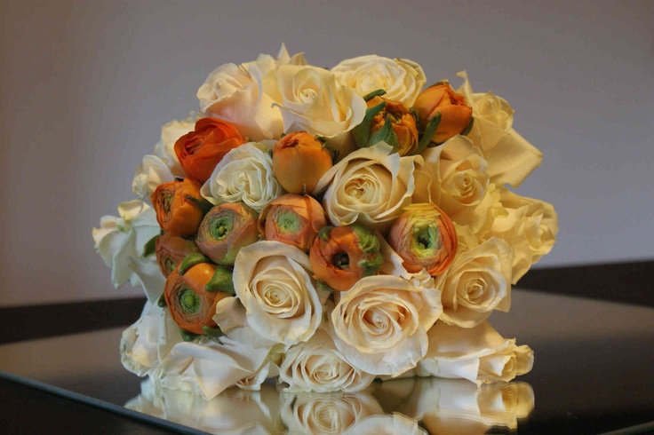 romantic...white and orange