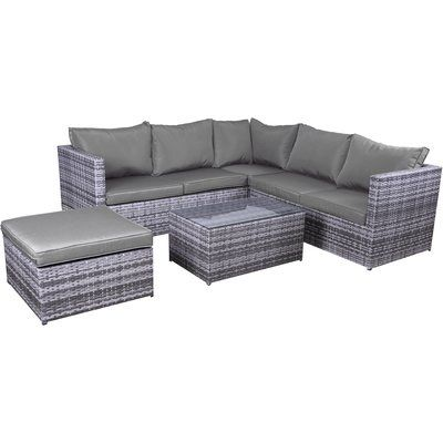 DHI Stinson 2 Piece Deep Seating Group