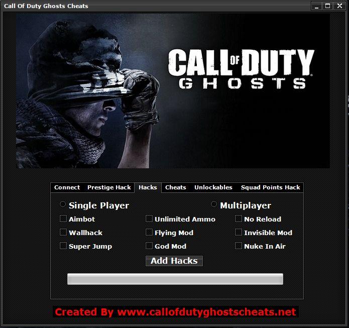 Cod Ghosts Hacks