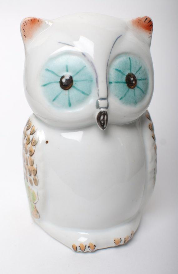 OWL Moneybox, OneLittleBirdShop on Etsy, £12.00