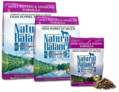 Natural Balance dog food - We use it exclusively for our 2 dogs and they love it.