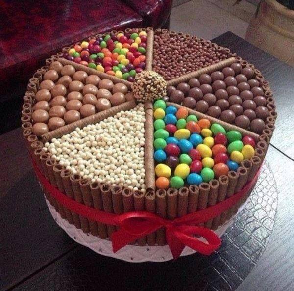 Birthday cake, Easy sponge inside