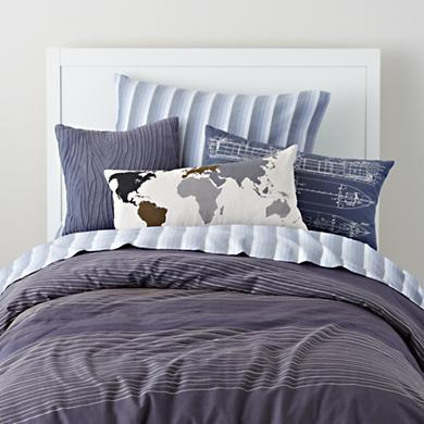Boys Pillows World Map Throw Pillow In All New Kiddos