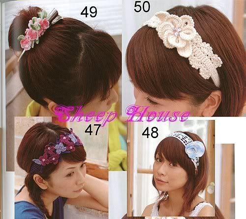 crochet flower headband patterns   make handmade, crochet, craft
