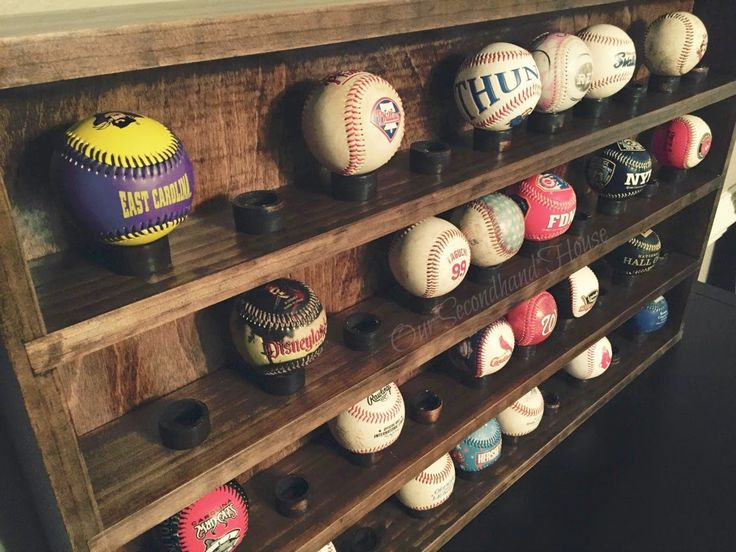 Our Secondhand House: DIY Baseball Collection Display More