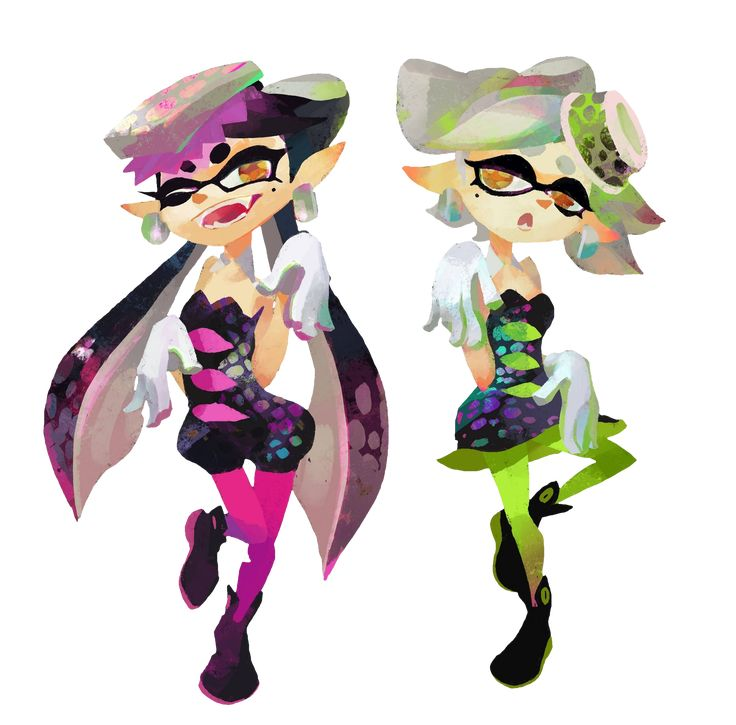 All Characters In Splatoon Splatoon Group Fanfic