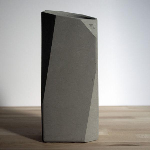 Sleek and Stylish Corvi Concrete Wine Cooler