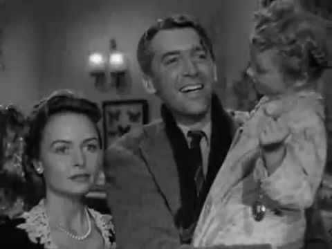 It's A Wonderful Life Christmas Classic with Jimmy Stewart.....Final Scenes.
