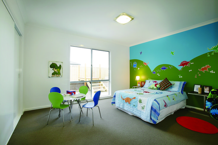 MegaHomes Albany Series Childs Bedroom #newhomes #melbourne #australia #design #childrensbedroom #bedroom