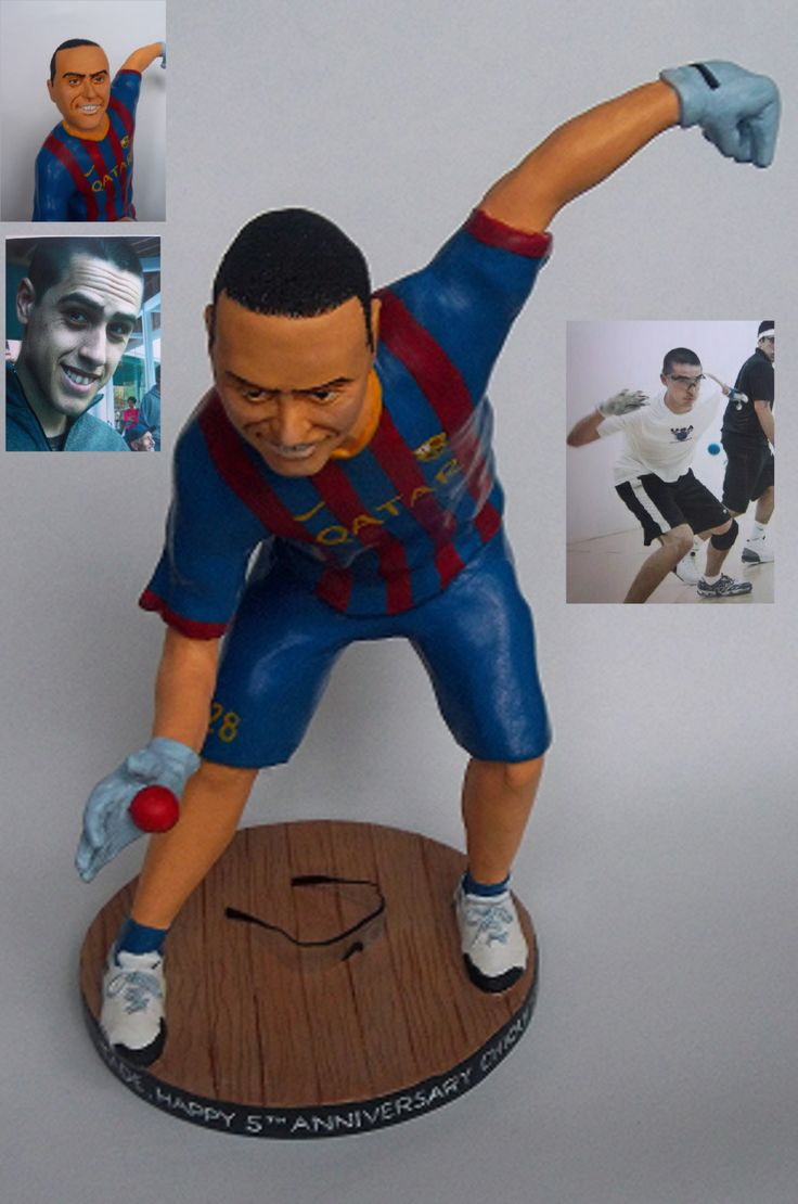 Custom Sculpture Figure Handball