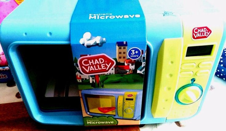Chad Valley Electronic Microwave toy boy girl age 3 years + birthday xmas gift