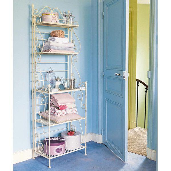 best tagre en fer forg ivoire l cm manon with paravent fer forg maison du monde. Black Bedroom Furniture Sets. Home Design Ideas